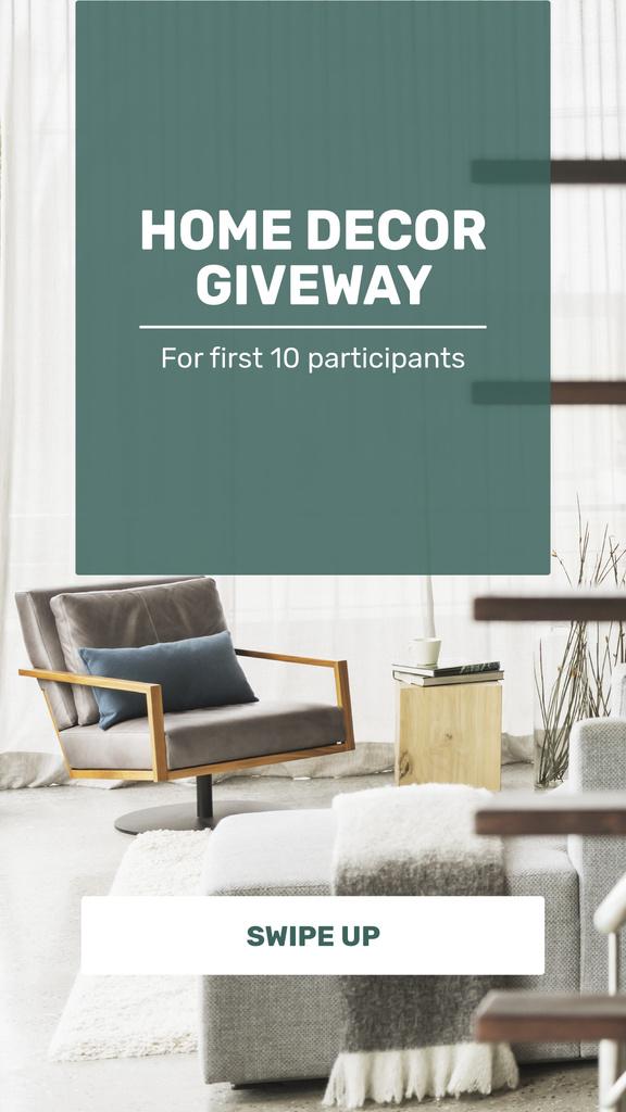 Modern Living Room Interior — Crear un diseño
