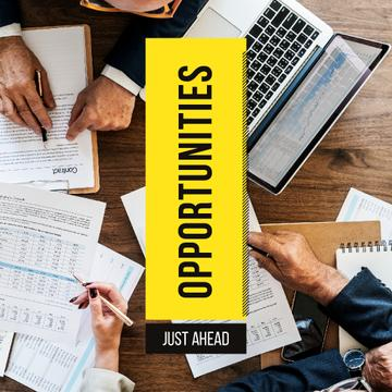 Opportunities just ahead