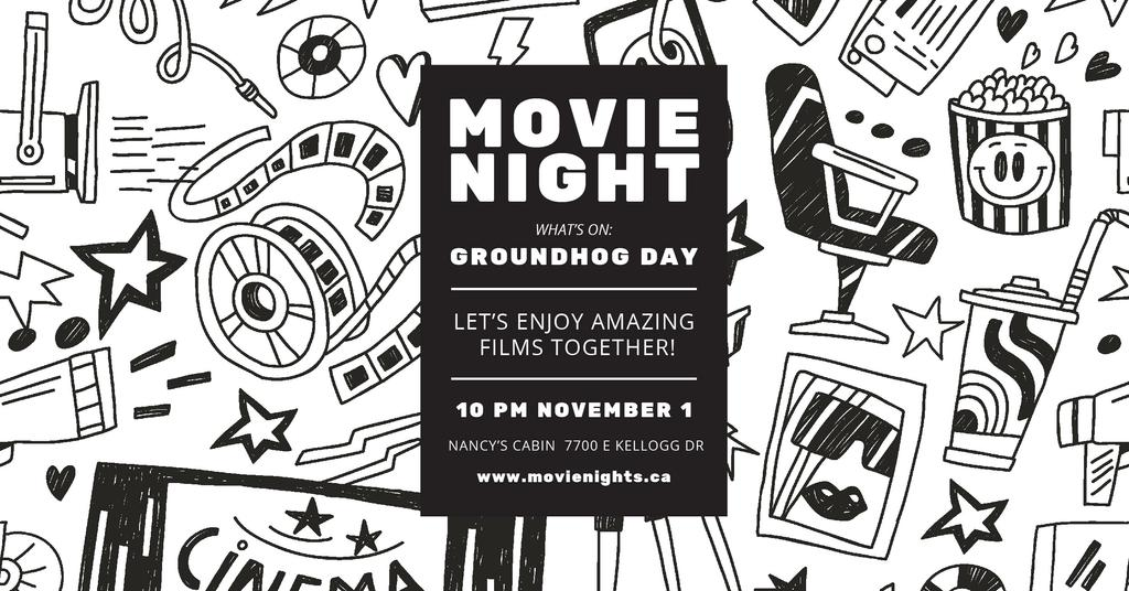 Movie night event — Створити дизайн