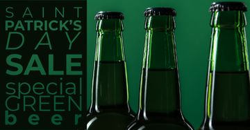 Special Green Beer Offer on St.Patricks Day