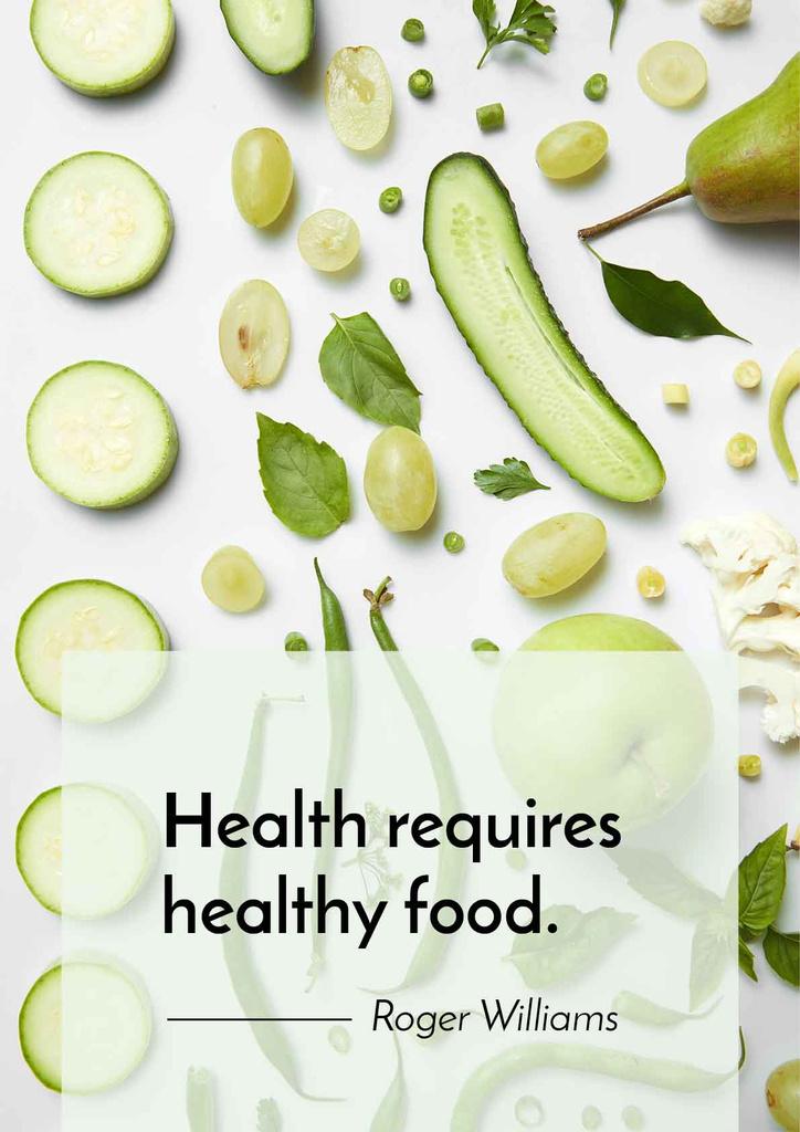 healthy nutrition concept — ein Design erstellen