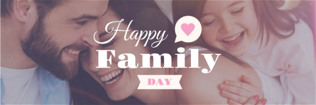 happy family day poster — Create a Design