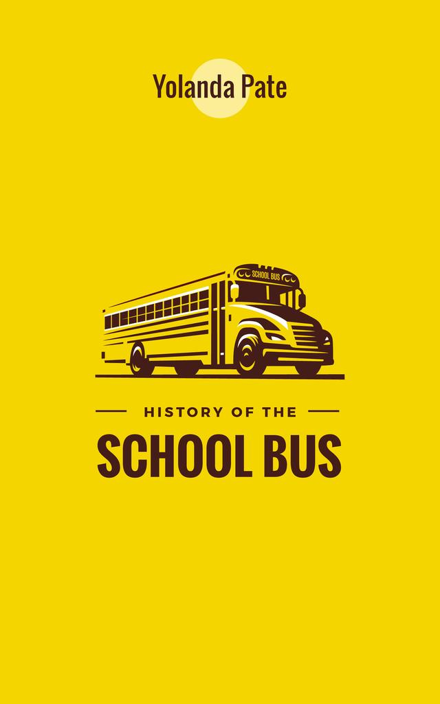 Yellow school bus — Создать дизайн
