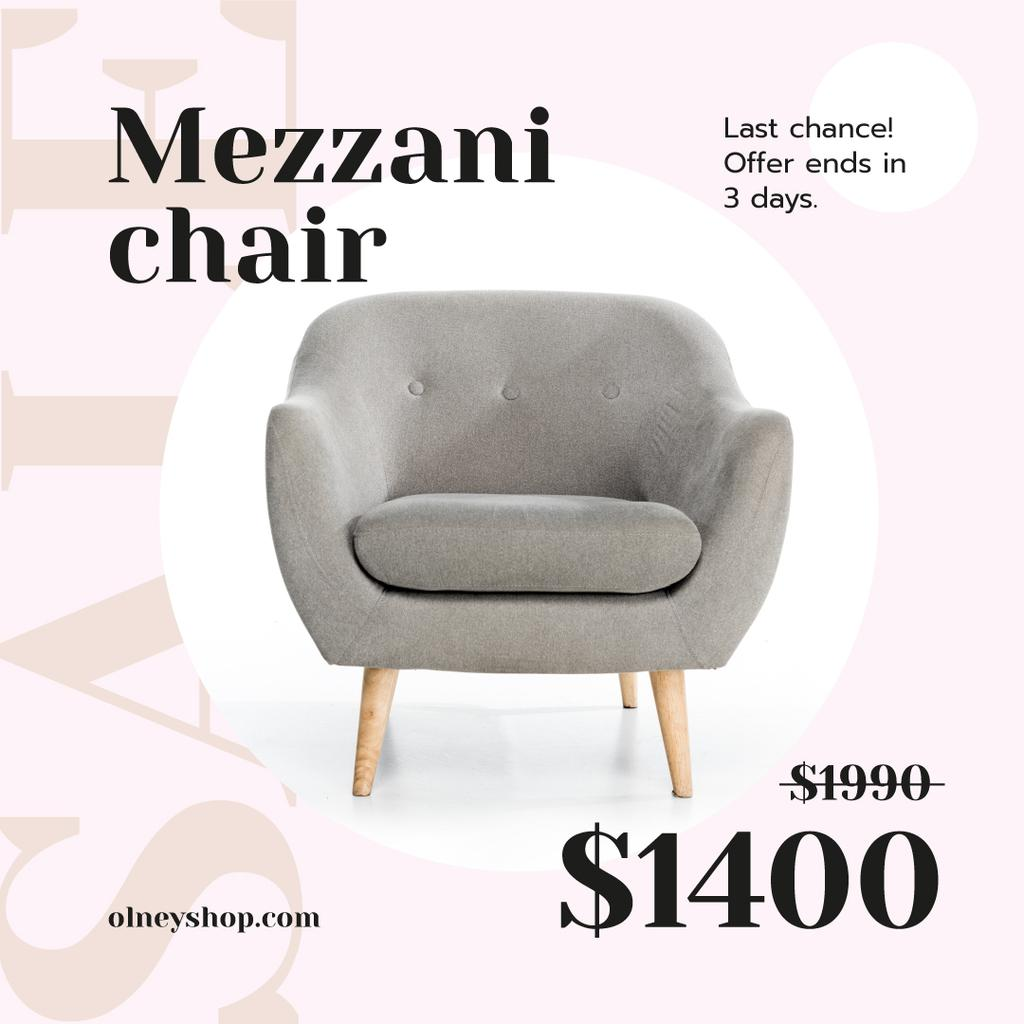 Cozy Armchair Offer — ein Design erstellen