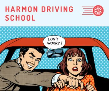 Driving school advertisement