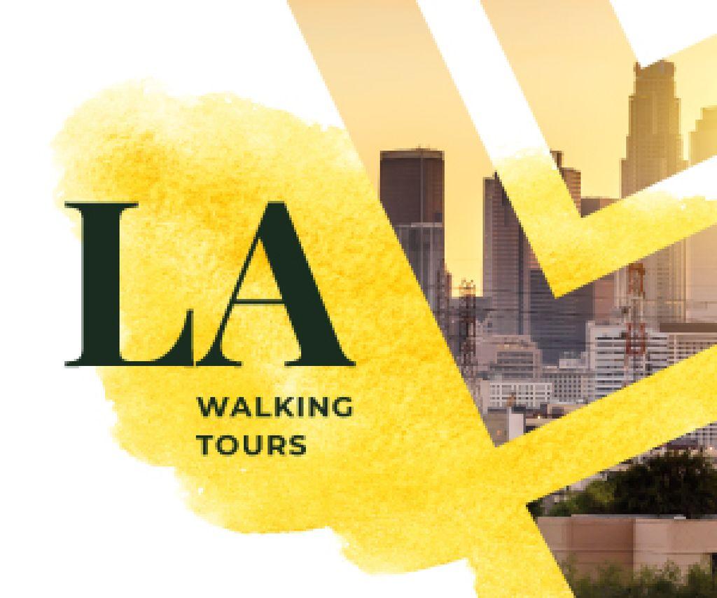 Los Angeles City Tour Promotion | Medium Rectangle Template — Créer un visuel