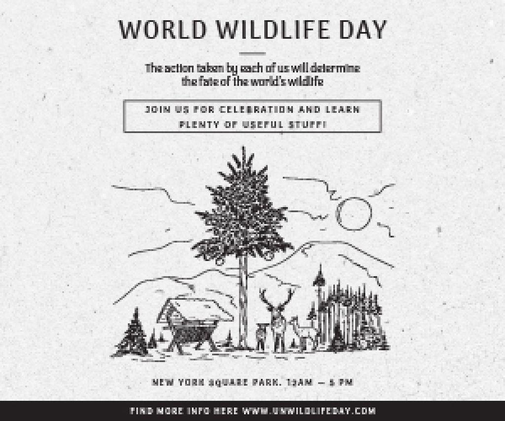 World wildlife day — Crea un design