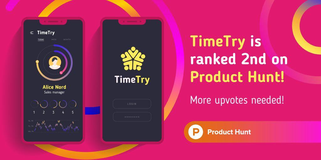 Product Hunt Application with Stats on Screen – Stwórz projekt