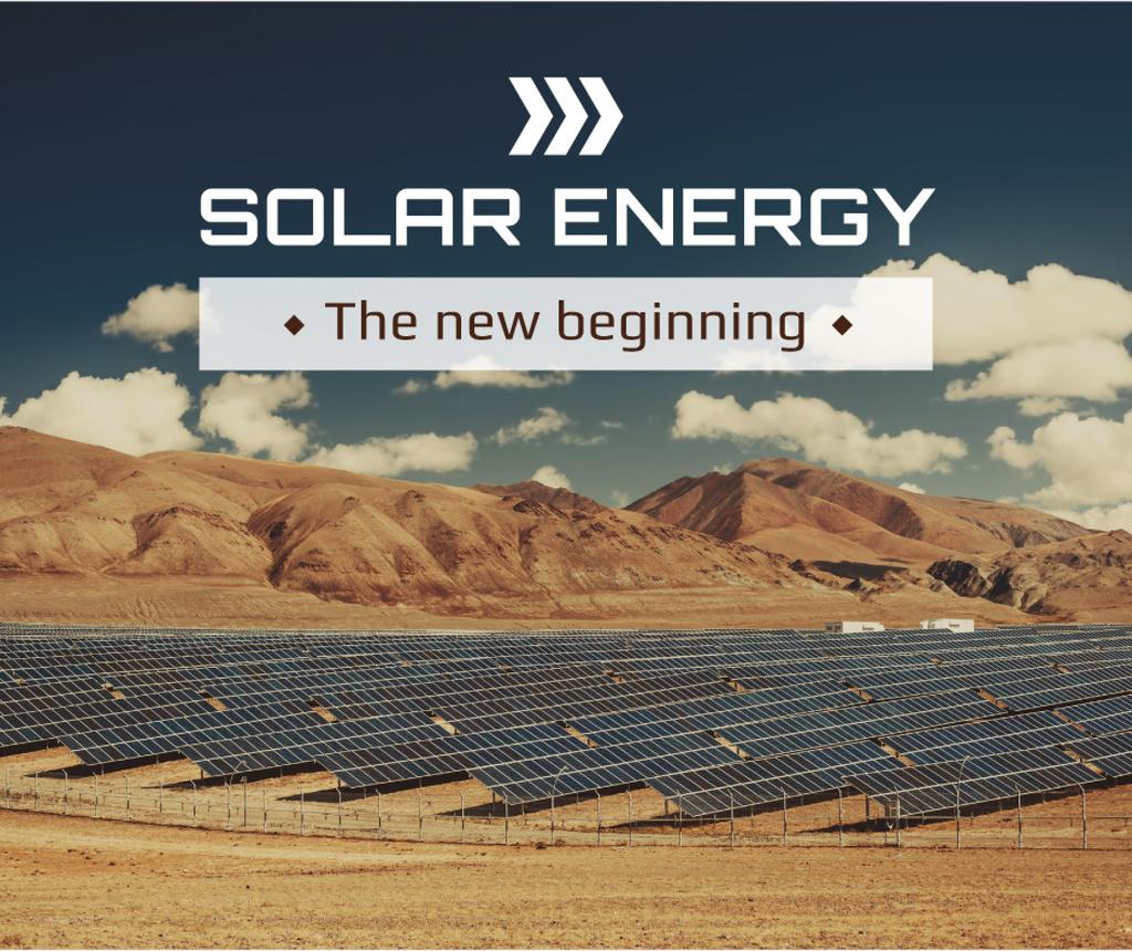 Solar energy poster — ein Design erstellen