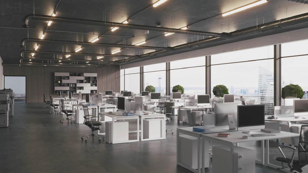 Empty Modern Office — Modelo de projeto
