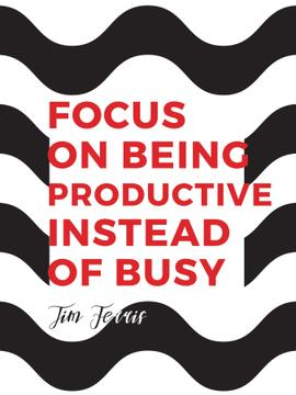 Citation about productivity for everyone