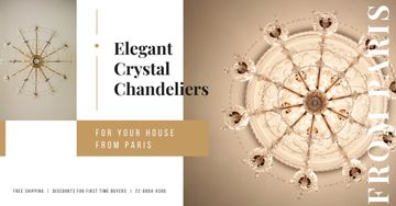 Large Elegant Chandelier Offer