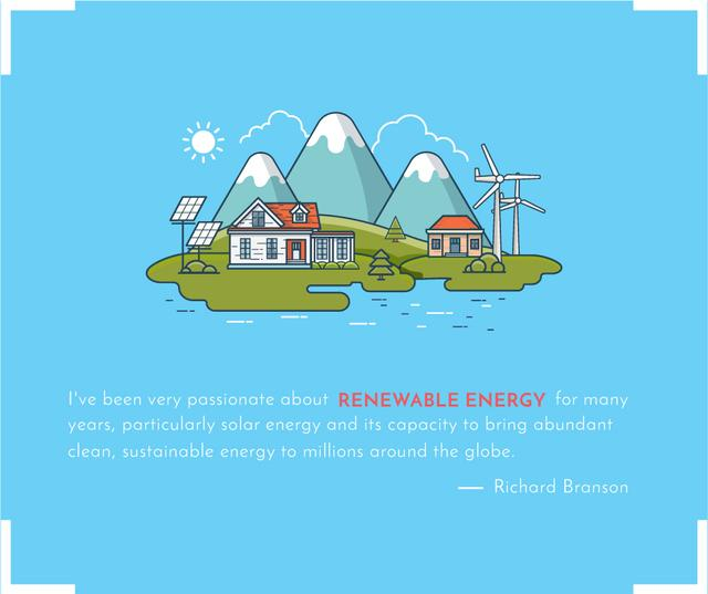 Energy Saving Technologies Smart Home Facebook – шаблон для дизайна