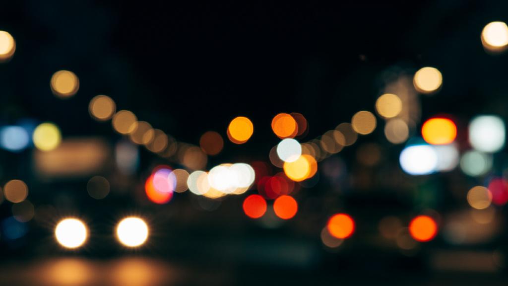 Glare of the night citylights — Создать дизайн