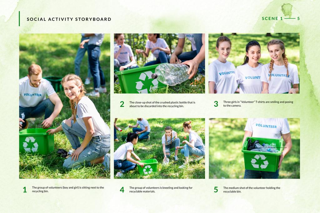 Volunteers collection Garbage — Створити дизайн