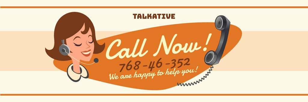 Call now banner — Crea un design