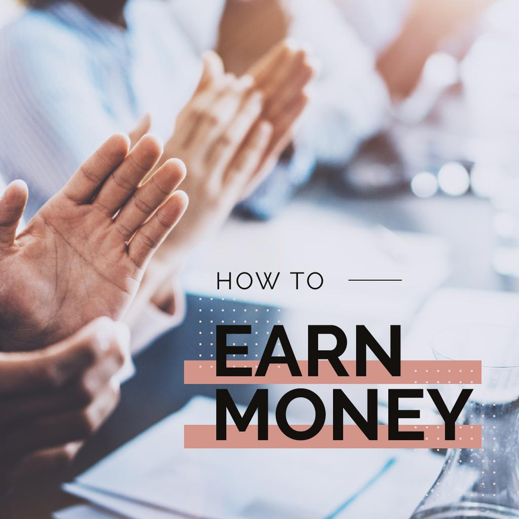 How to earn money — Створити дизайн
