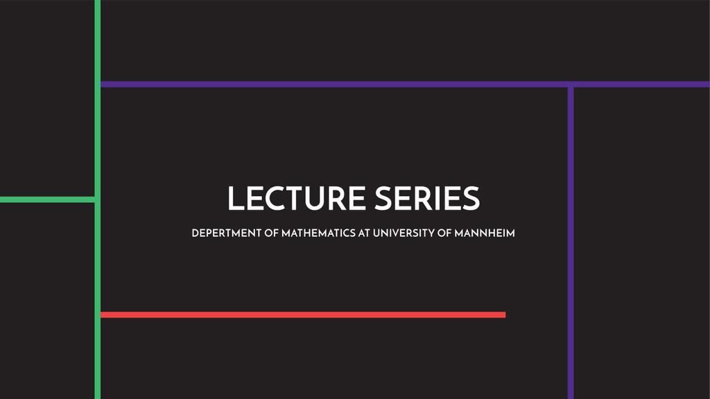 Lecture series of mathematics at university of Mannheim — Create a Design