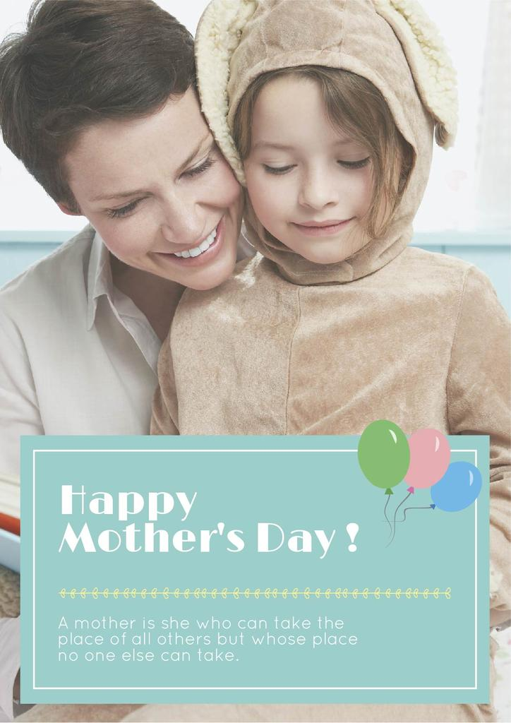 Happy Mother's day greeting card — Crear un diseño