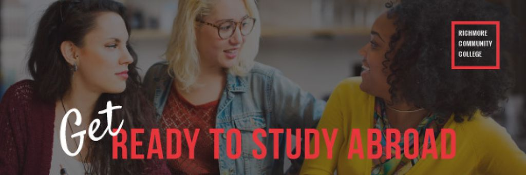 Get ready to study abroad poster — Modelo de projeto