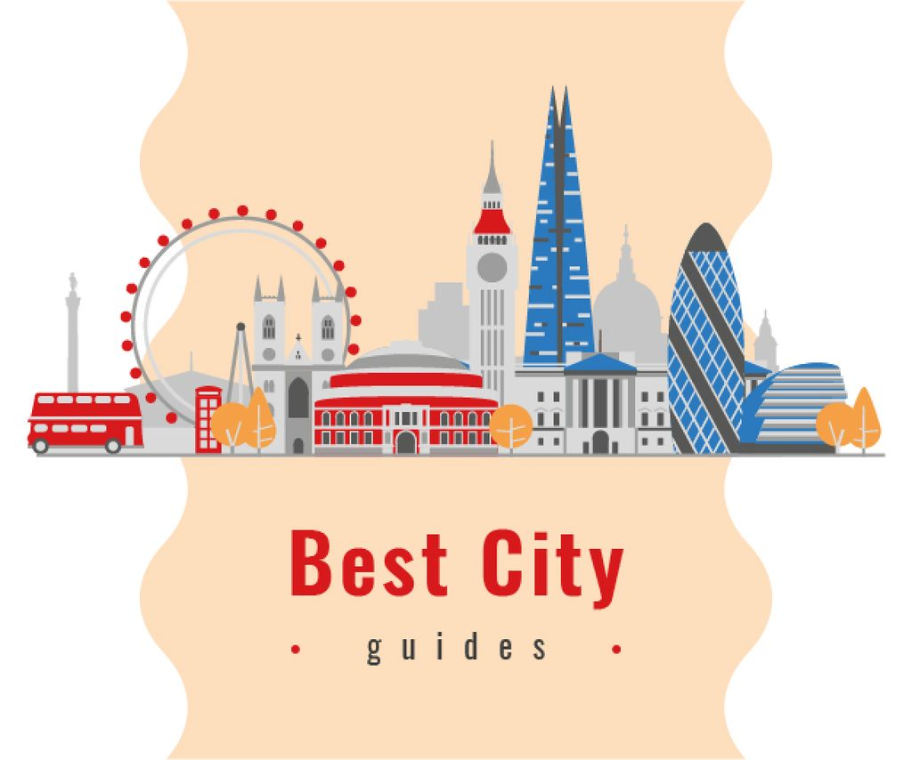 London City Attractions — Створити дизайн