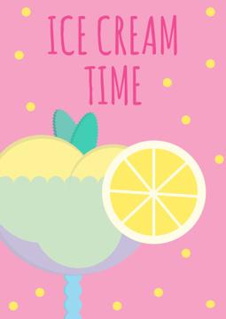 Ice cream cafe Promotion