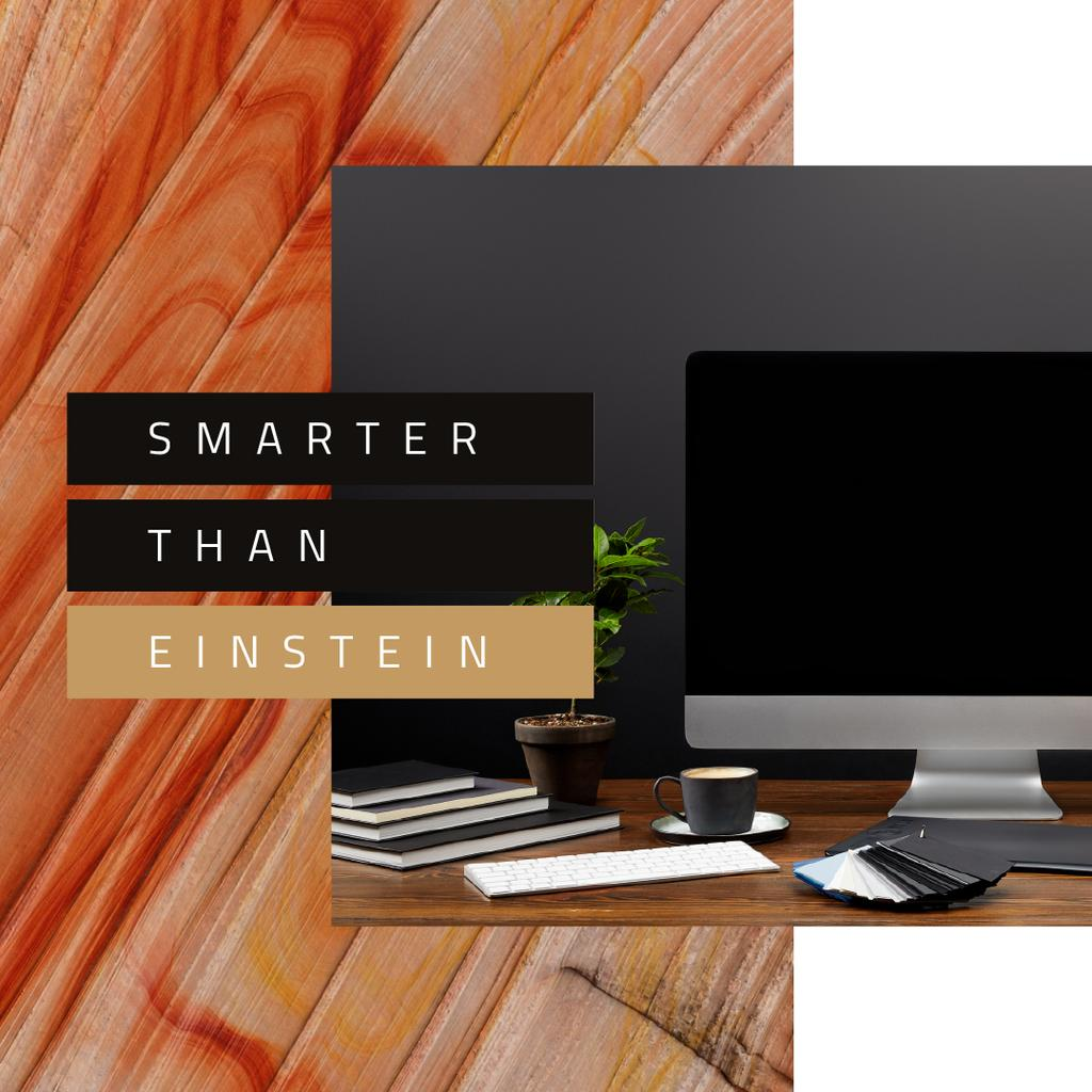 Computer on designer Working Table — Maak een ontwerp