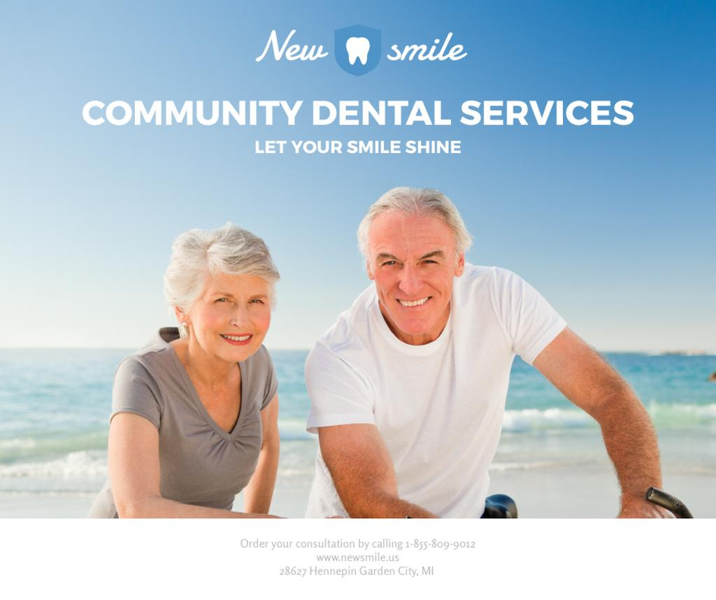 Dental services for elder people — Créer un visuel