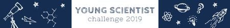 Young scientist challenge banner Leaderboard Design Template