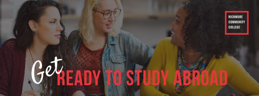Get ready to study abroad poster — Створити дизайн