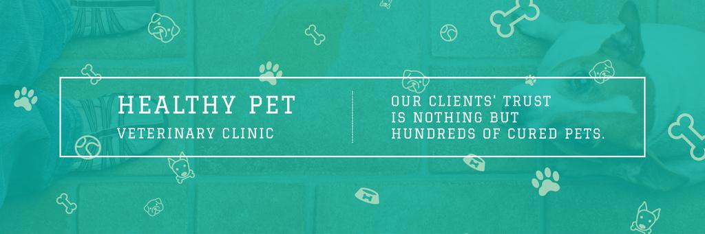 Healthy pet veterinary clinic - Vytvořte návrh