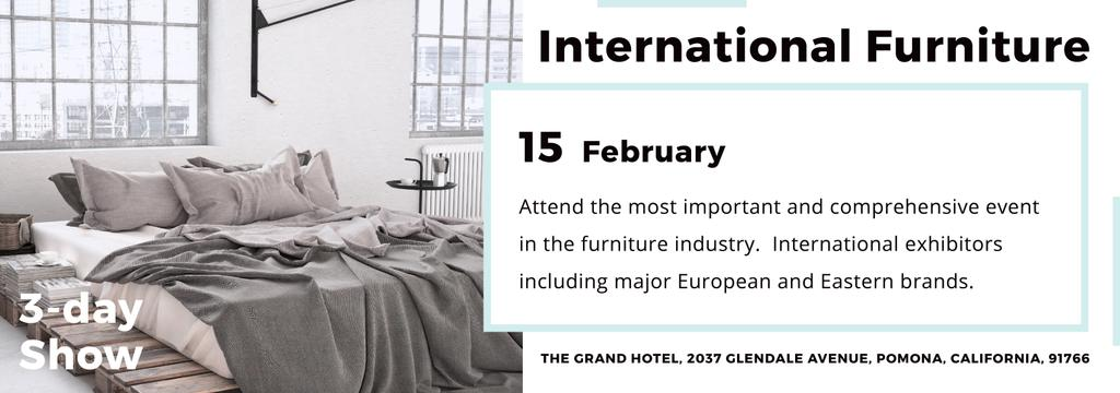International furniture show — Создать дизайн