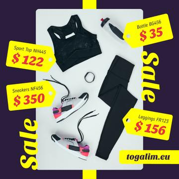 Sale Offer Sports Equipment in Black