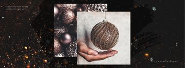 Decor Studio Ad Hands with Bauble