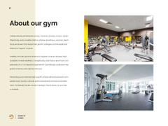 Sport Motivation with Woman in Gym