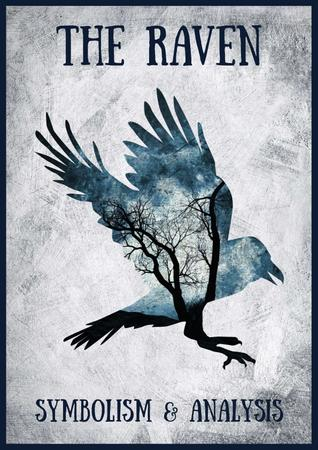The Raven with Bird's Silhouette Poster – шаблон для дизайну