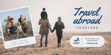 Family Tour Offer Parents with Kids at the Beach