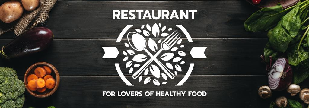 restaurant for lovers of healthy food poster — Create a Design