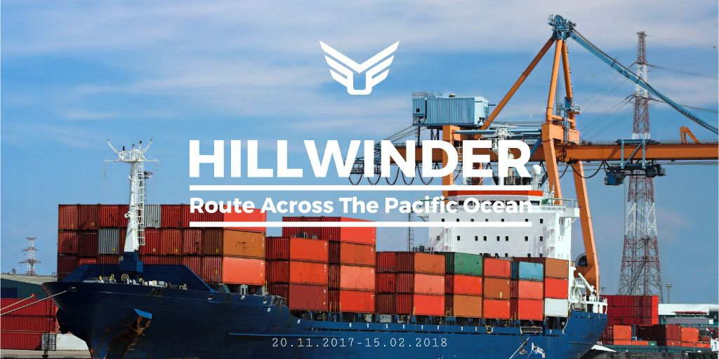 Across Pacific Ocean shipping company  — Crear un diseño