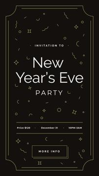New Year's Party invitation
