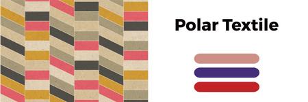 Designvorlage Polar textile shop für Twitter