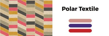 Plantilla de diseño de Polar textile shop Twitter