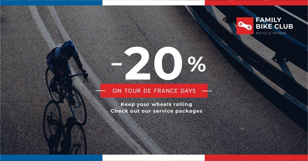 Family bike club discounts — Maak een ontwerp