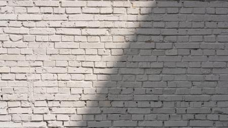 White brick wall with Shadow Zoom Background – шаблон для дизайна