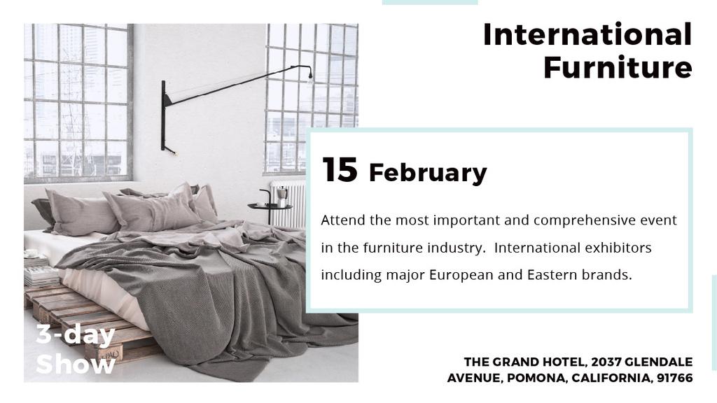 International furniture show — Создать дизайн