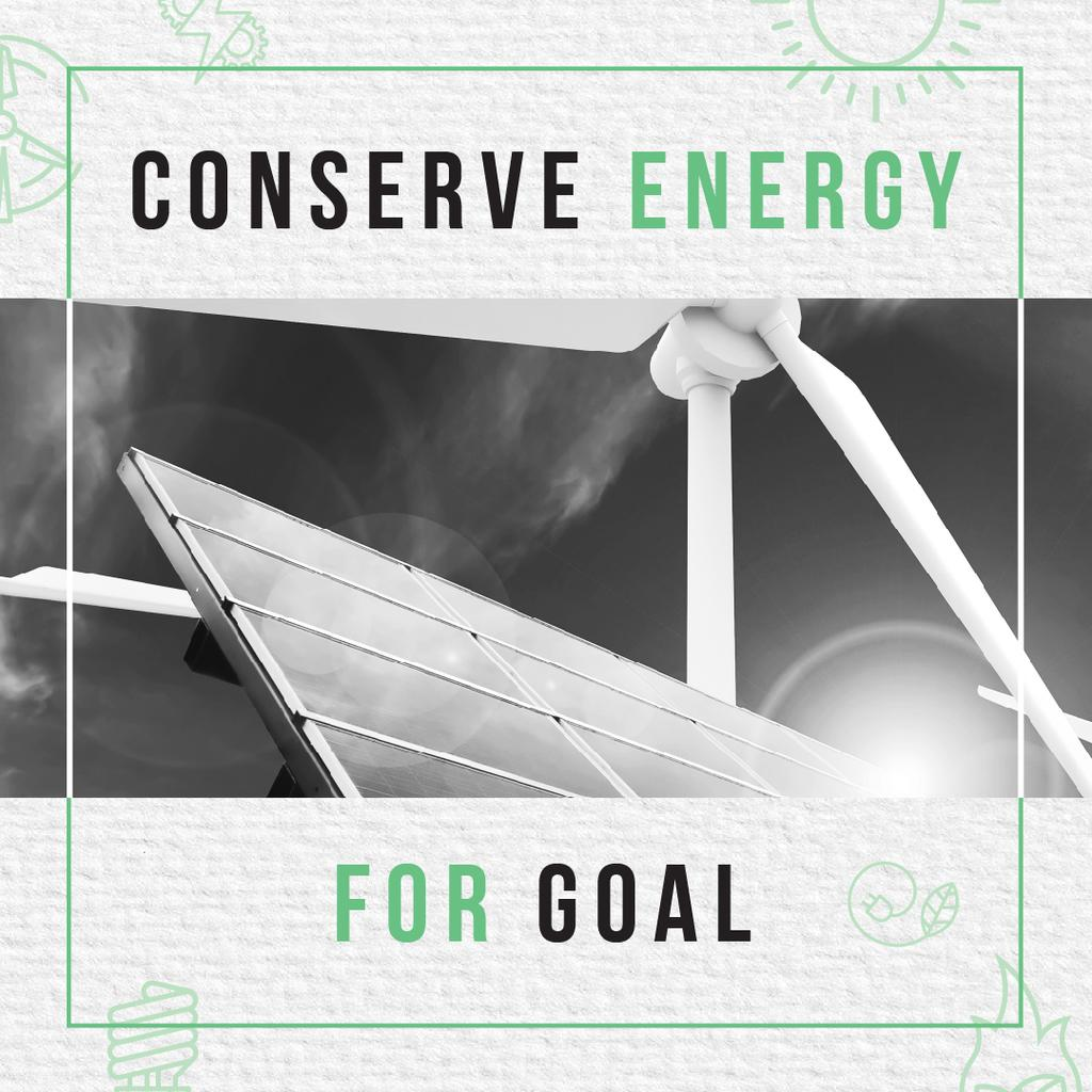 Concept of Conserve energy for goal — Создать дизайн