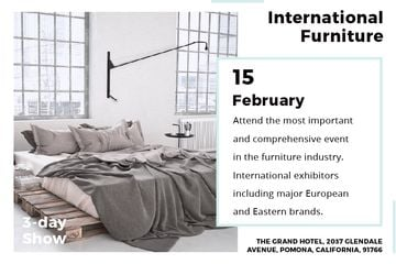 International furniture show