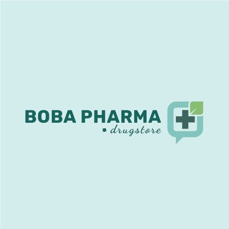 Plantilla de diseño de Drugstore Ad Medical Cross Icon Animated Logo