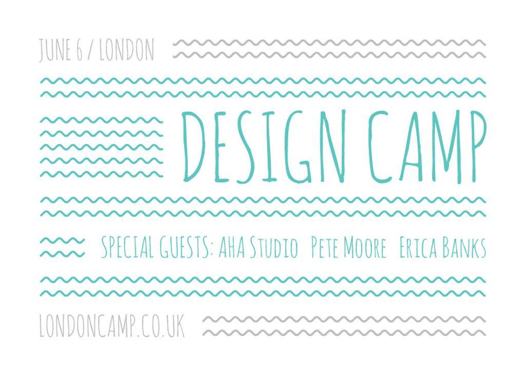 Design camp Announcement — ein Design erstellen