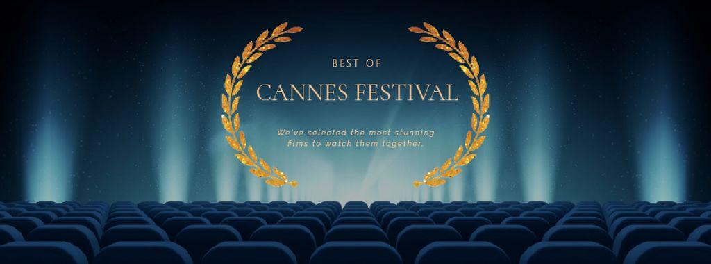 Cannes Film Festival seats in Cinema — Створити дизайн
